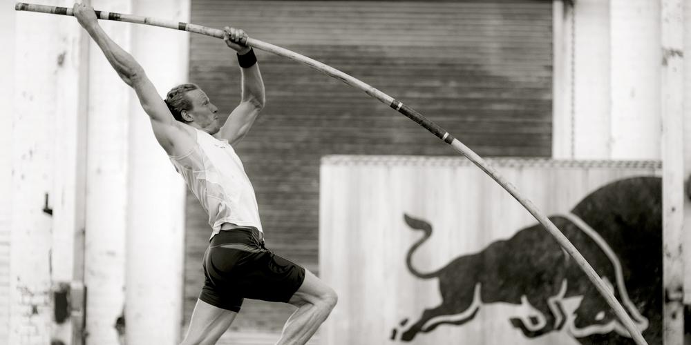 Steve Hooker Olympic Pole Vault Champion