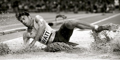 Mitchell Watt Olympic Long Jump Silver Medalist